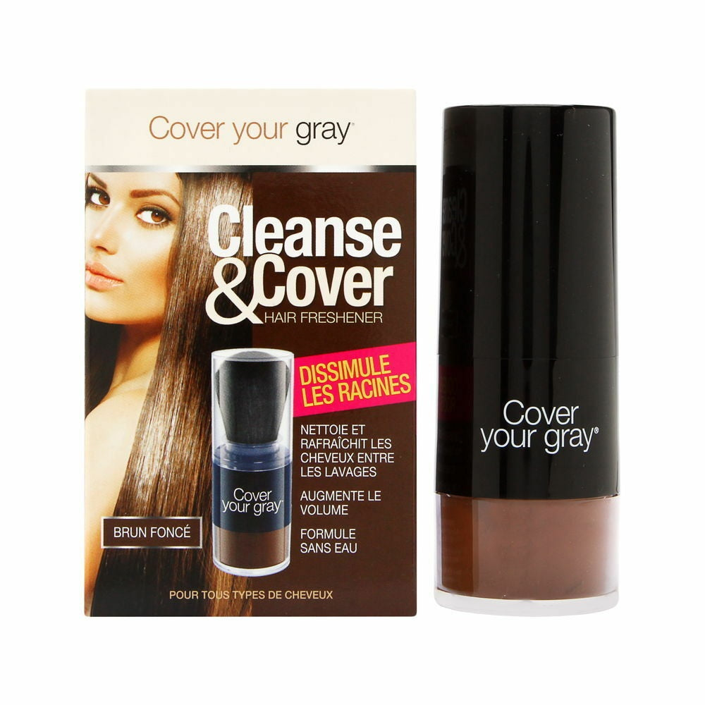 Irene Gari Cover Your Gray Cleanse Cover Hair Refreshener 12g / 0.42oz Dark Brown