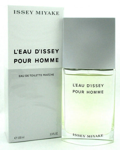Issey Miyake L'eau D'issey Pour Homme 3.3 oz. EDT FRAICHE Spray for Men