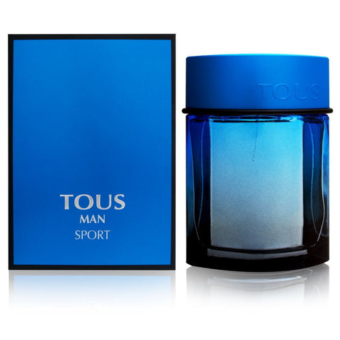 Tous Man Sport by Tous for Men 3.4 oz Eau de Toilette Spray