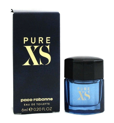 PURE XS by Paco Rabanne Cologne 0.2 oz.MINI EDT Splash for Men