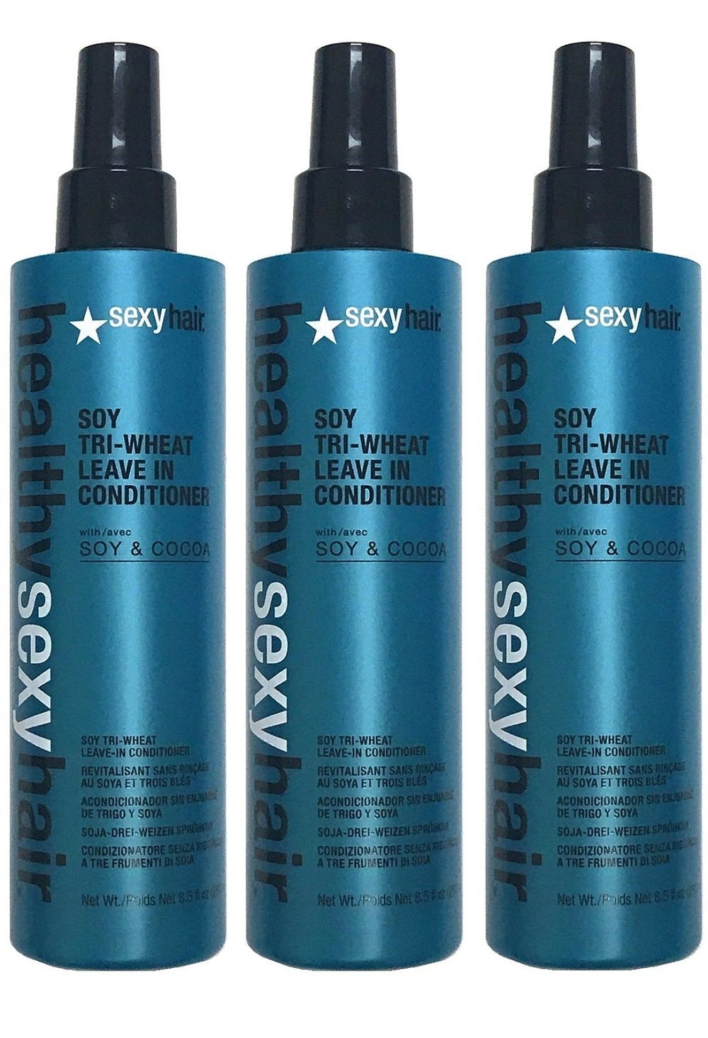 Healthy sexy hair soy leave in