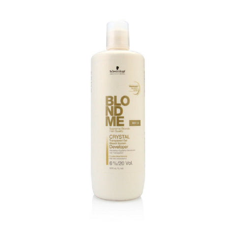 Schwarzkopf Blond Me Crystal Developer 6 / 20 Vol 33oz / 1 Liter