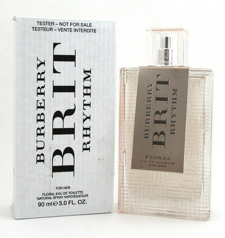 Burberry BRIT RHYTHM FLORAL 3.0 oz. EDT Spray for Women