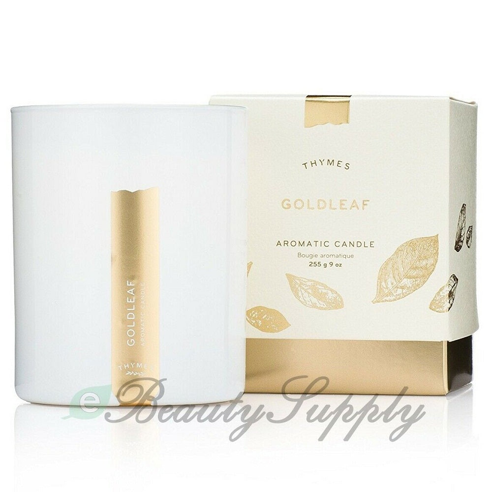 Thymes Goldleaf Aromatic Candle 9 oz