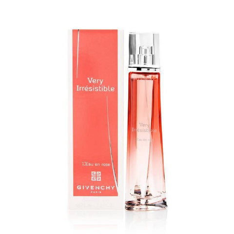 Very Irresistible L'Eau En Rose by Givenchy For Women 2.5 Oz EDT Spray