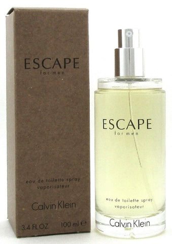 Escape Cologne by Calvin Klein 3.4 oz. EDT Spray for Men