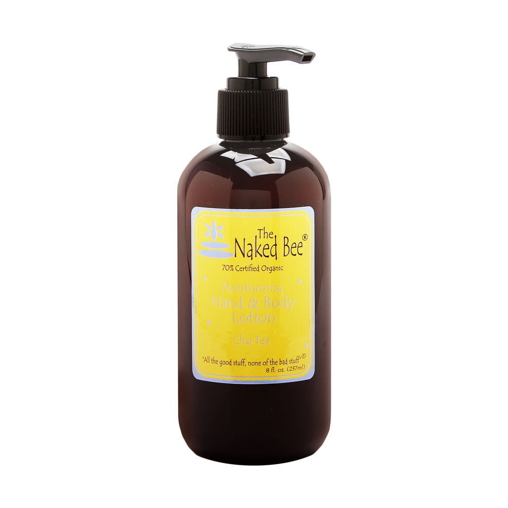 The Naked Bee Chai Tea Moisturizing Hand Body Lotion 8.0 Oz