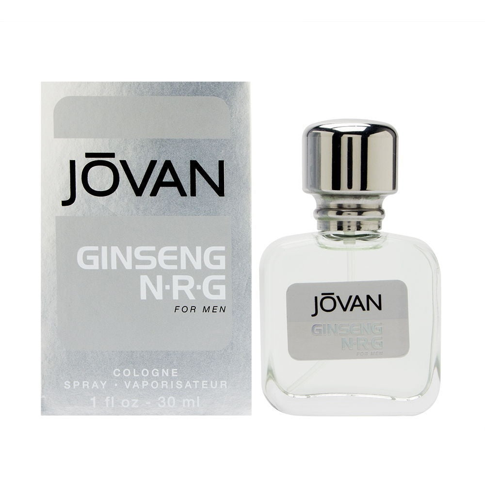 Ginseng NRG by Jovan for Men 1.0 oz Cologne Spray Brand New