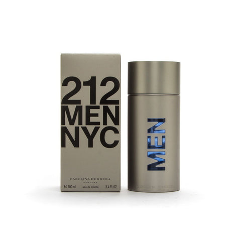 Carolina Herrera 212 MEN NYC Cologne For Men 3.4 oz EDT Spray