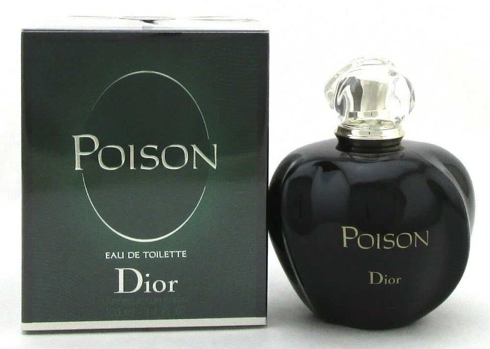 Poison Perfume by Christian Dior 3.4oz.Eau de Toilette Spray for Women