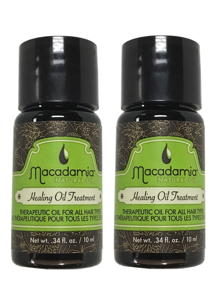 Macadamia Hair Care Healing Oil Treatment .34 Oz Pack Of 2
