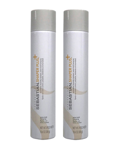 Sebastian Shaper Plus Extra Hold Hairspray 10.6 oz Pack Of 2