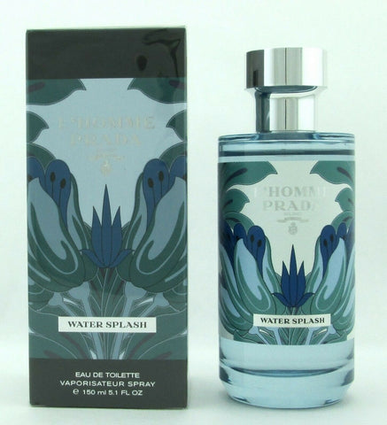 L'Homme Prada Water Splash Cologne by Prada 5.1 oz. EDT Spray for Men