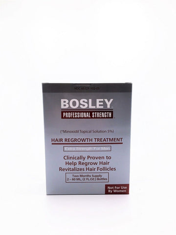 BOSLEY Hair Regrowth Treatment For Women Two Month Supply