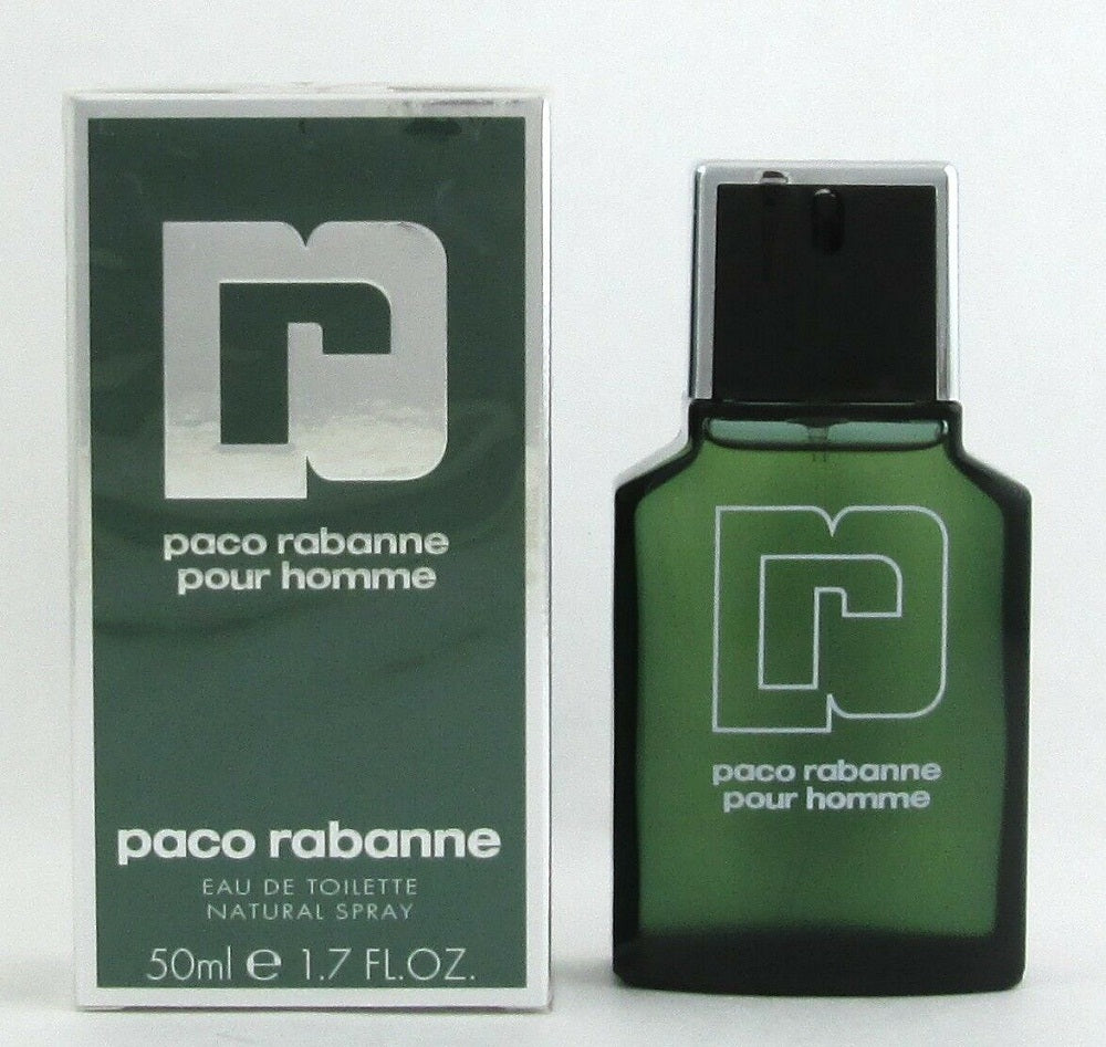Paco Rabanne Pour Homme Cologne 1.7 oz Eau De Toilette Spray for Men