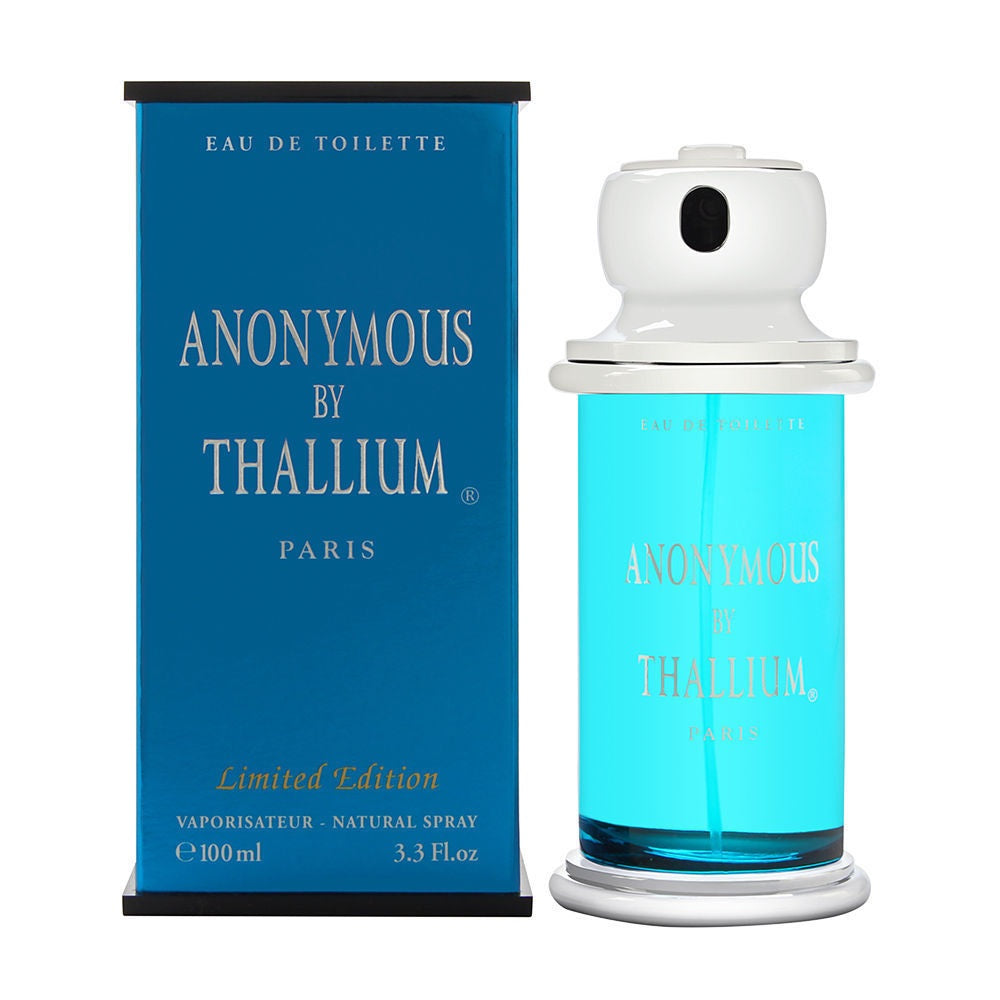 Anonymous Thallium by Yves De Sistelle For Men 3.3 oz EDT Spray Limited Edition