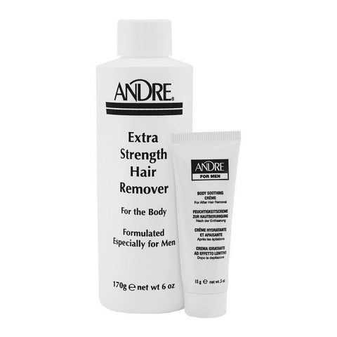 Andre For Men Extra Strength Hair Remover For The Body 170g / 6.0oz
