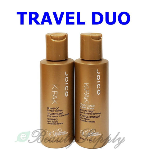 Joico K-PAK to Repair Damage Shampoo and Conditioner Travel Size Duo 1.7 oz