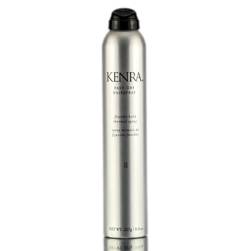 Kenra Fast-Dry Hairspray Flexible Hold #8  8.0 OZ