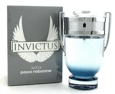 Paco Rabanne Invictus AQUA 3.4 oz. Eau de Toilette Spray for Men