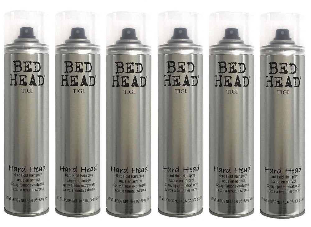 Tigi Bed Head Hard Head Hair Spray 10.6 Oz Pack Of 6