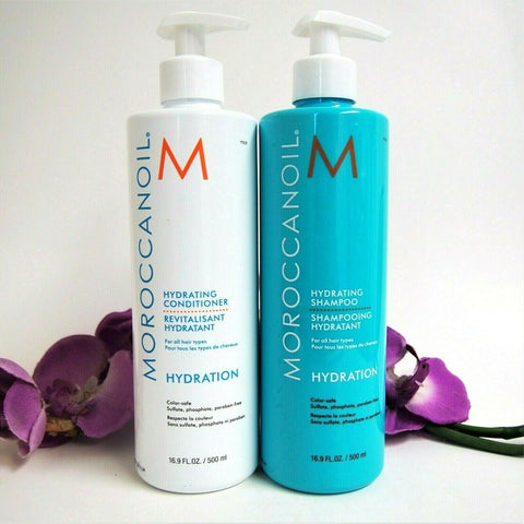 MOROCCAN OIL HYDRATION SHAMPOO AND CONDITIONER DUO 500 ml / 16.9 oz