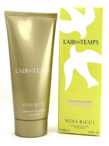 L'air Du Temps by Nina Ricci 6.8 oz / 200 ml. Body Lotion for Women