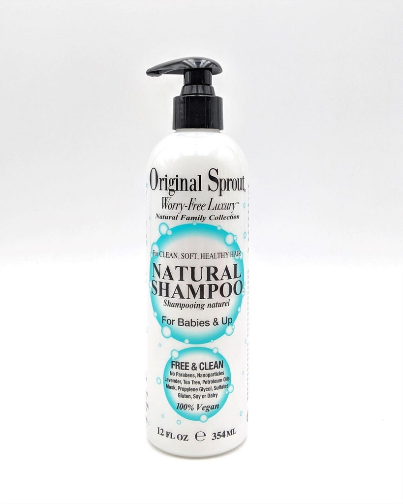 Original Sprout Natural Shampoo For Babies And Up 12 Oz
