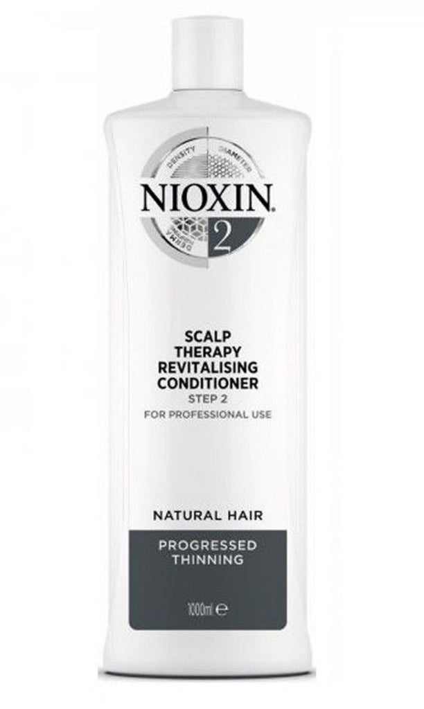 Nioxin System 2 Scalp Therapy Conditioner 33.8 Oz / 1L  NEW