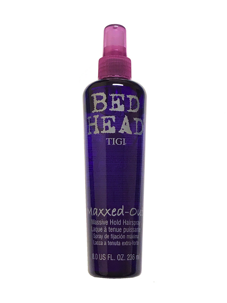 Tigi Bed Head Maxxed-Out Massive Hold Hair Spray 8 Oz