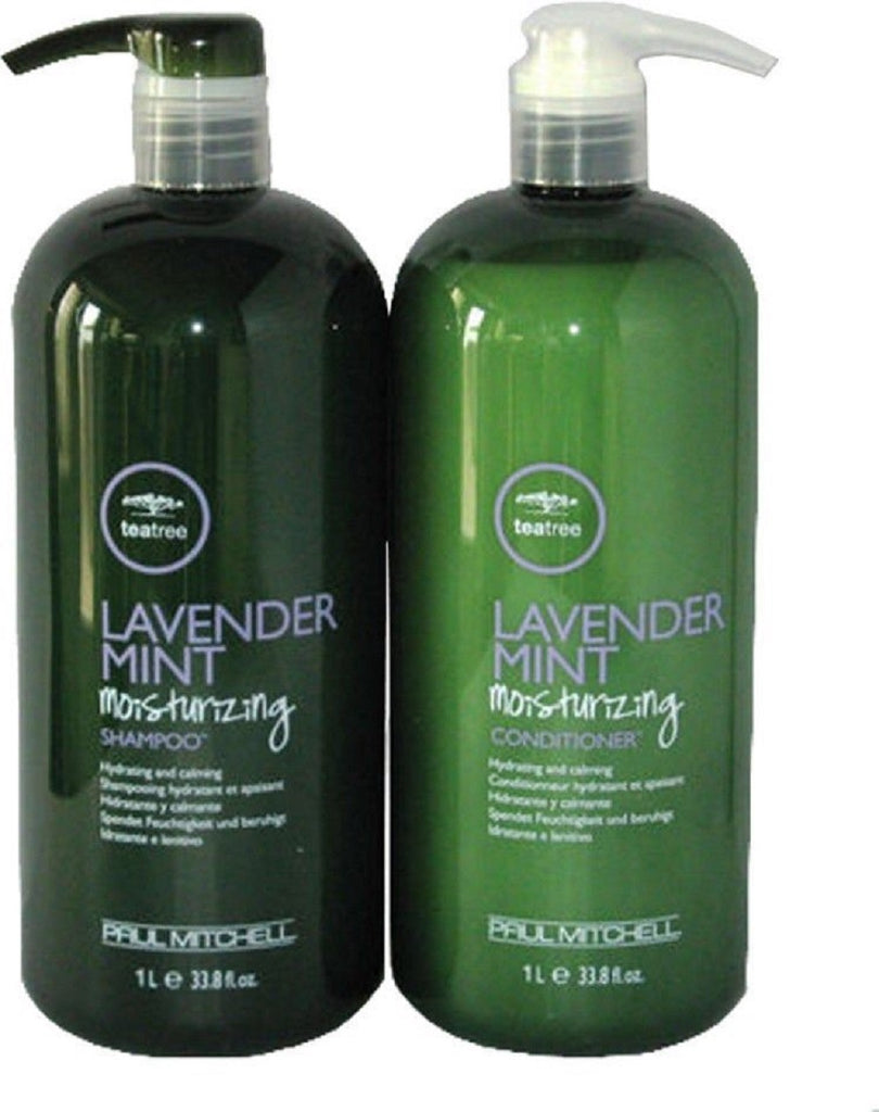 Paul Mitchell Lavender Mint Moisturizing Shampoo And Conditioner 33.8 Oz DUO