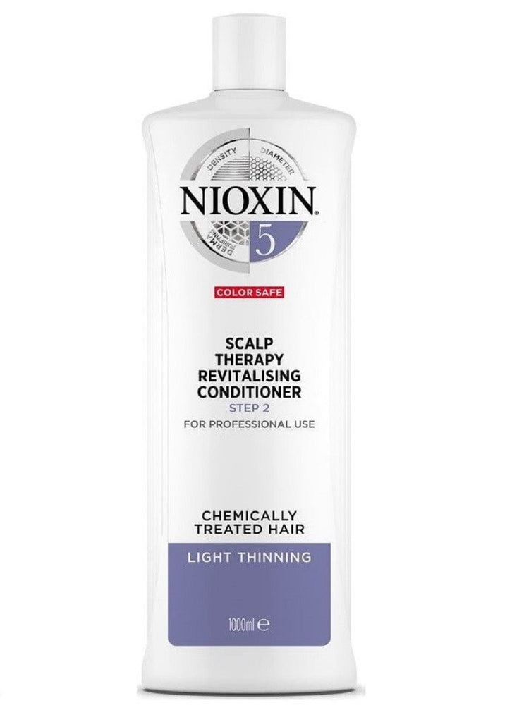 Nioxin System 5 Scalp Therapy Conditioner 33.8 Oz / 1L  NEW