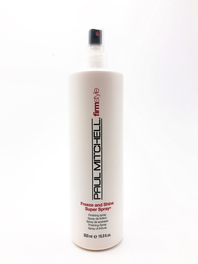 Paul Mitchell Freeze And Shine Super Spray 16.9 Oz