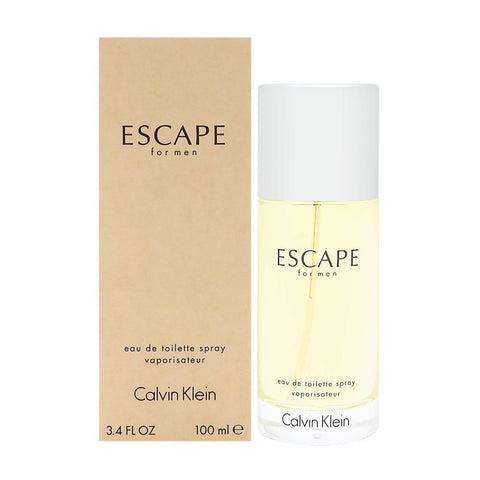Escape by Calvin Klein For Men 3.4 oz Eau de Toilette Spray Brand New