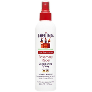 FAIRY TALES Rosemary Repel Lice Prevention Leave-In Conditioning Spray 8 Oz.