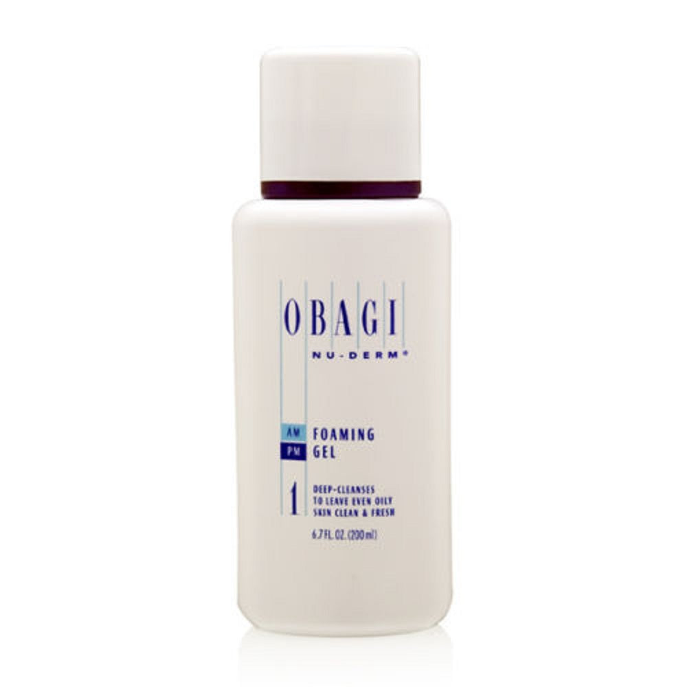 Obagi Nu Derm Foaming Gel 6.7 oz / 200 ml - Brand New