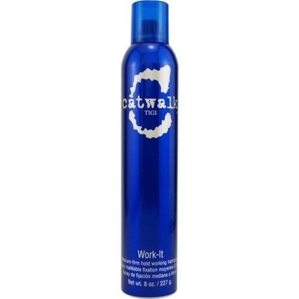 Tigi Catwalk Work-It Medium Firm Holding Hairspray 8 Oz  Dented