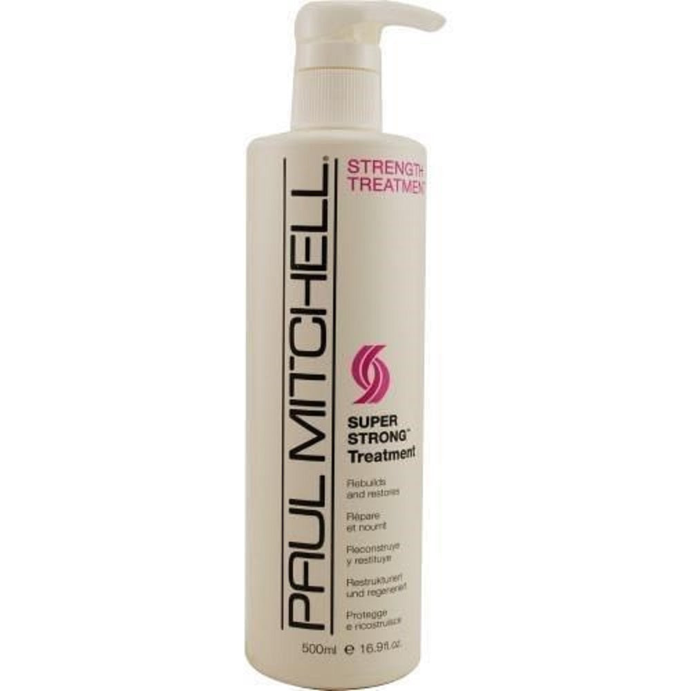 Paul Mitchell Super Strong Treatment Rebuilds And Restores 16.9 oz OP