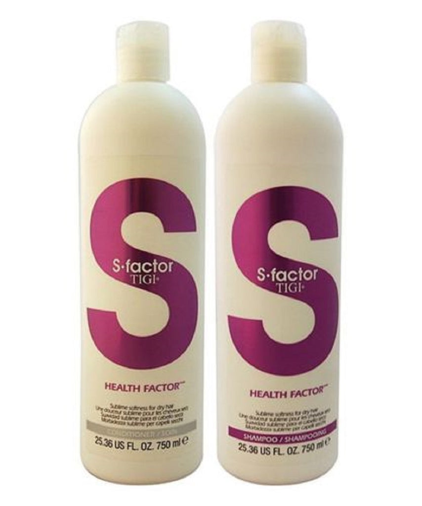 Tigi S Factor Health Factor Shampoo And Conditioner 25.36 Oz Each
