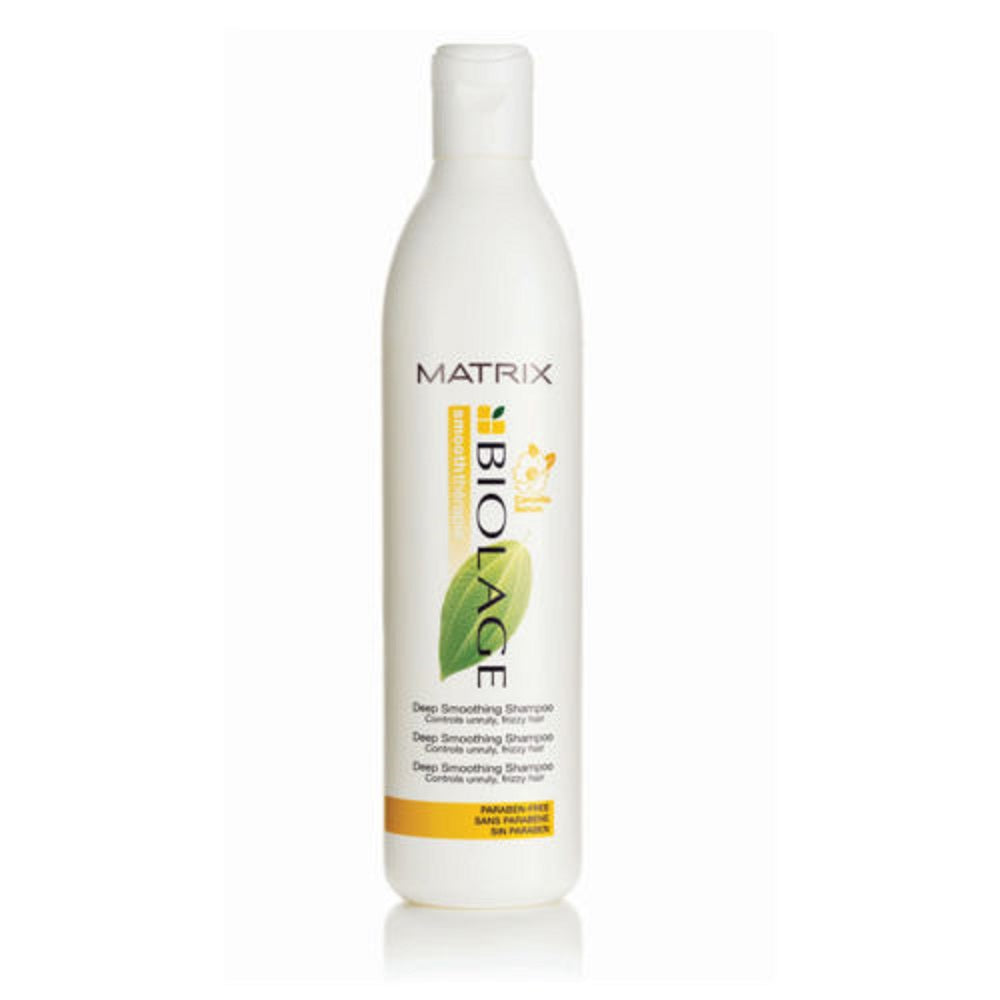 Matrix Biolage Deep Smoothing Shampoo 16.9 oz PACK OF 3