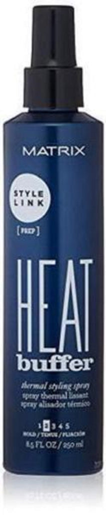 Matrix Style Link Prep Heat Buffer Thermal Styling Heat Protectant Spray 8.5 Oz