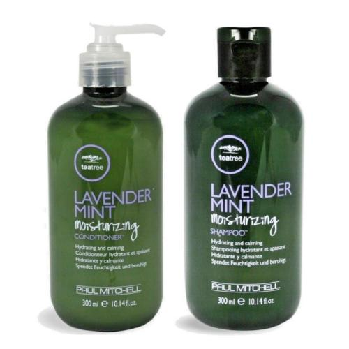 Paul Mitchell Tea Tree Lavender Mint Shampoo & Conditioner 10.1oz