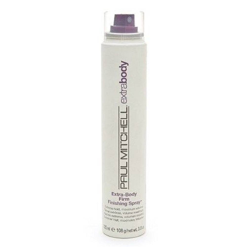 Paul Mitchell Extra  Body Firm Finishing Spray 3.8 Oz  Dented