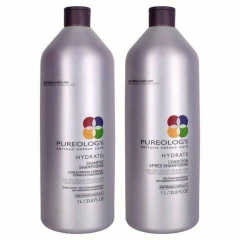 NEW Pureology Hydrate Shampoo and Conditioner Duo - 33.8 oz