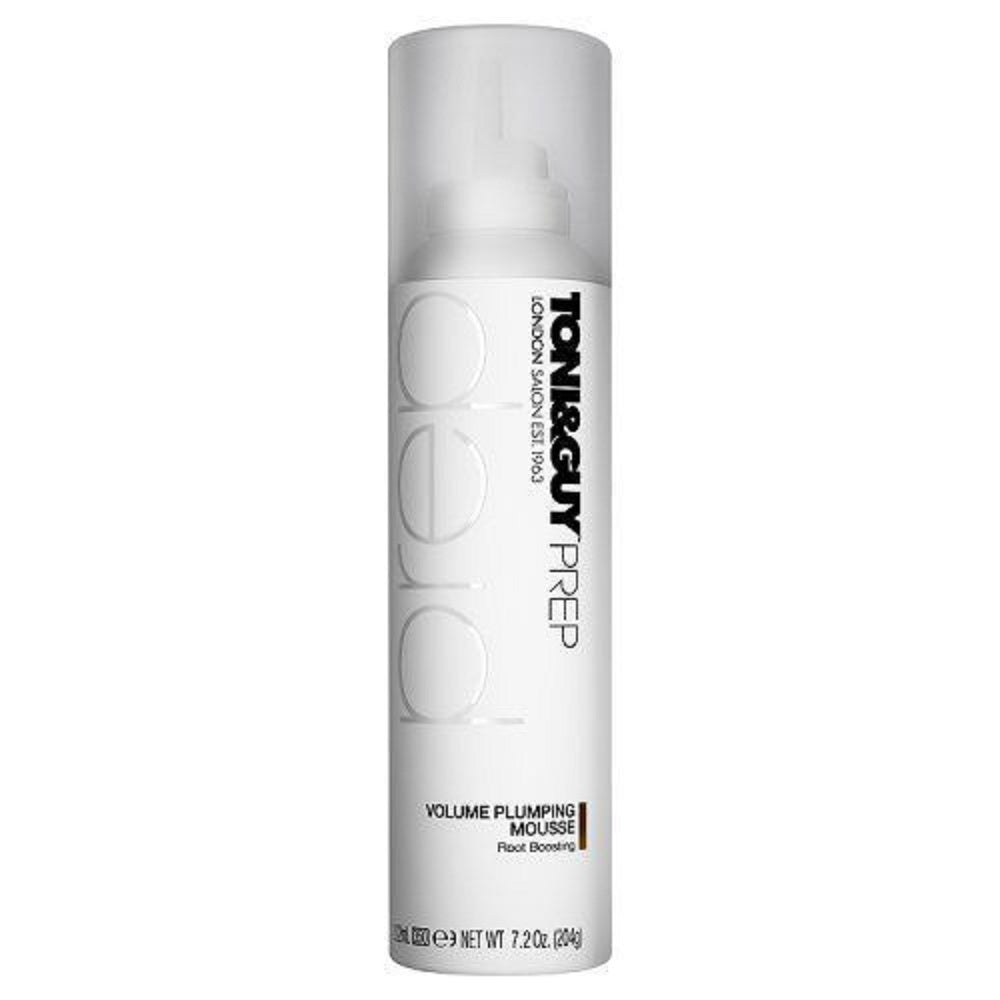Toni & Guy Prep Volume Plumping Mousse 7.2 Oz Root Boosting PACK OF 3
