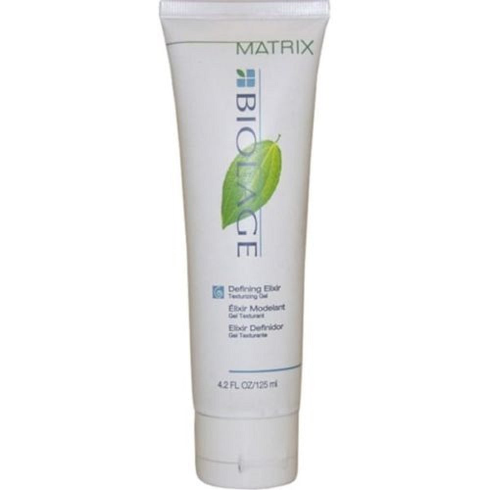 Matrix Biolage Styling Curl Defining Elixir Medium Hold Gel 4.2 Oz  Scuffed