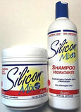 Silicon Mix Hair Treatment and Shampoo Combo 16 OZ Combo Pack of 2