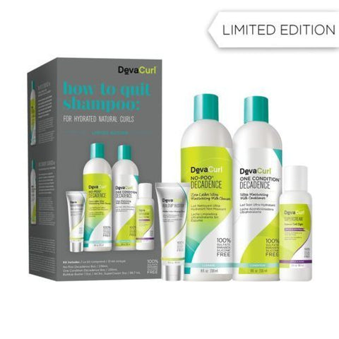 Deva Curl Decadence How to Quit Shampoo: For Hydrated Natural Curls