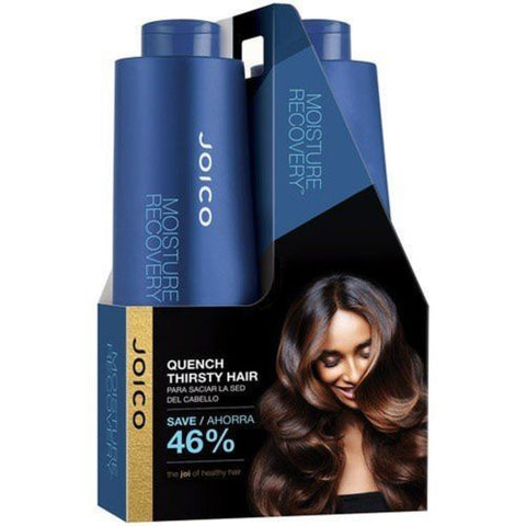 Joico Moisture Recovery Shampoo & Cond. Liter/33.8 oz. Duo