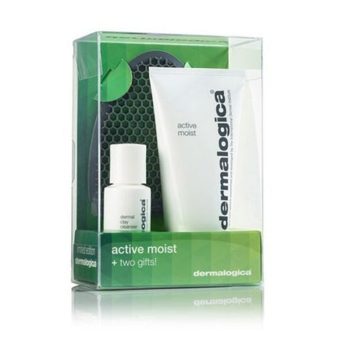 Dermalogica Active Moist + 2 gift - Facial cleansing/Dermal clay/Active Moist